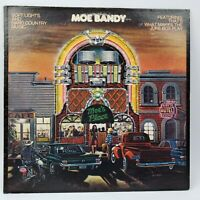 Moe Bandy Soft Lights and Hard Country Music LP Vinyl NM NM