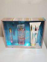 Nanette Lepore Luna Gift Set 2 Parfums .3 oz & 3.4 oz & 1 Body Lotion NIB 3 Pcs