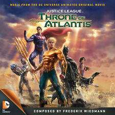 JUSTICE LEAGUE: THRONE OF ATLANTIS: Original Soundtrack by Frederik Wiedmann