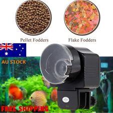 Automatic Fish Food Feeder Pet Aquarium Tank Pond LCD Auto Timer Tank go E#R