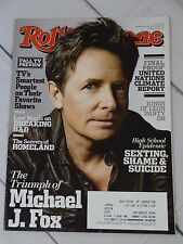 Rolling Stone Magazine Issue 1192 September 26, 2013 Michael J Fox - R195