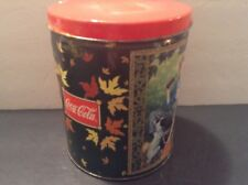 Vintage  COCA-COLA 1998 Collectable Coke Jigsaw Puzzle in Tin Can