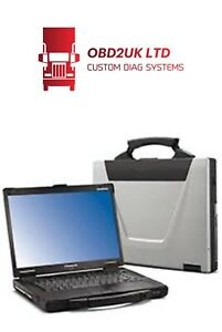 DIAGNOSTIC System Compatible with CNH Toughbook FULL PROGRAMMING