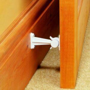 Door Holder Child Safety Stopper Catch Finger pinch Protector Baby Elegance 2 pk