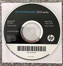 Original HP Photosmart 5510 Printer CD Driver Version 24.0.0/12.8.0