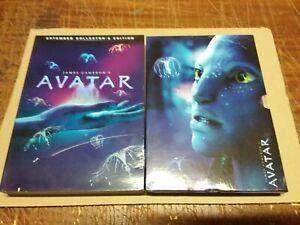 Cofanetto dvd AVATAR EXTENDED 3 DISCHI