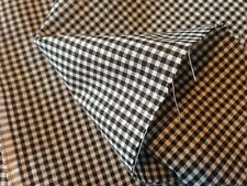 Black 1/16 inch Gingham Check Fabric - 7 Yards - BBGCBK16