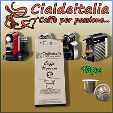 10 capsule Cialdeitalia Caffè VIGOROSO Compatibili NESPRESSO