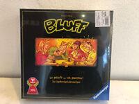 Bluff von Ravensburger Spiel des Jahres 1993 OVP Brett Familien Gesellschafts