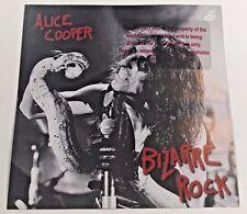 NWT 1995 Alice Cooper Bizarre Rock Unreleased Promo CD Rock Metal Glam LP Record