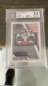 2009 SI FOR KIDS Lewis Hamilton #360  TRUE RC ROOKIE CARD BGS 5