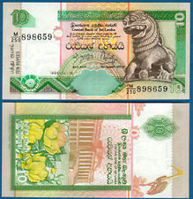 Sri Lanka 10 roupies 1995 UNC p.108