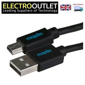 Premium USB 2.0 A to Mini B Cable Data Transfer GoPro High Quality Lead