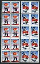Liberia 2017 MNH Chinese Liberation Army 90th 2x 10v Block Ships Tanks Stamps