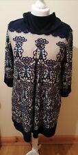 Epilogue Tunic Dress Size UK18 excellent Condition  Soft Feel. Loose Roll Neck