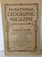 REPRINT National Geographic Magazine 1907 Vol XVIII No 5 Rock City of Petra a1