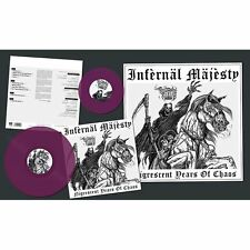 "Infernal Majesty-nigrescent Years of Chaos LP + 7"" (lim.300 Purple V. * Razor)"
