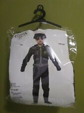 The Cop Police Officer Boys Child Costume By Charades Medium 8-10