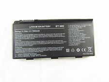 New Battery MSI BTY-M6D MSI GT70 MS1762 MS-1762 MSI GT60 MS16F3 MS-16F3 GX780R