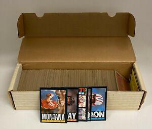 1985 Topps Football Complete Set (1-396) w/ Joe Montana John Elway Dan Marino +