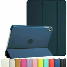 More details for leather smart ipad case cover apple ipad air 9.7 pro air 10.5 10.2 7th 8th gen