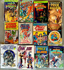 lot of 12 OVERSTREET COMIC BOOK PRICE GUIDE paperback used condition
