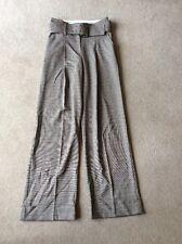 BNWOT Ladies Size 8 M&S Brown Mix Regular Length Trousers (RRP £35)