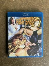 THE VAMPIRES NIGHT ORGY Blu-ray Code Red OOP Sealed Spanish '70s Horror