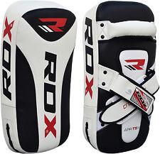 RDX Thai Kick Boxing Sciopero Curvo Braccio Pad MMA Fuoco Muay Punch Shield Mitt FG