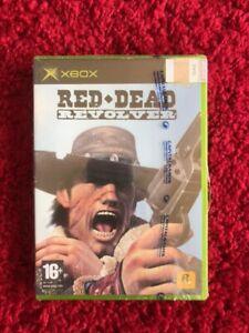 Red Dead Revolver Microsoft XBOX Pal UK European Version New Sealed