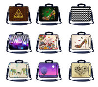 Laptop Sleeve Bag w Side Pocket & Carry Handle Fit up to 15.6 for HP Acer etc .