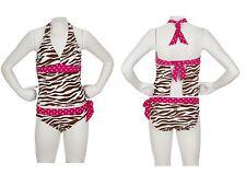 NWT LIMTED TOO / JUSTICE Animal Safari Tankini Swimsuit ~ Sz 10
