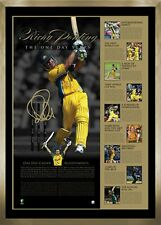 Ricky Ponting Hand Signed Framed World Cup One Day Years Limited Edition Print