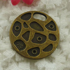 Free Ship 10 pieces bronze plated cute pendant 31mm #1277