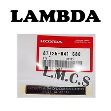 Genuine Honda Motor Co Ltd Sticker Z50 P50 QA50 ATC70 XL70 XL75 XL100 XL350 XR75
