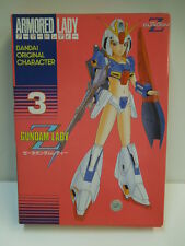Vintage Bandai Armored Lady Z Gundam Lady Model kit 100% New