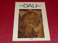 [BEAUX ARTS ] Salvador DALI  Beau Livre 1973 Larkin