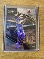 LeBron James 2018-19 Panini Select Courtside #215 SSP INVEST HOT Lakers MVP RARE