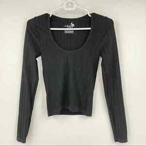 Intimately Free People Ribbed Long Sleeve Top Women's Size XS
