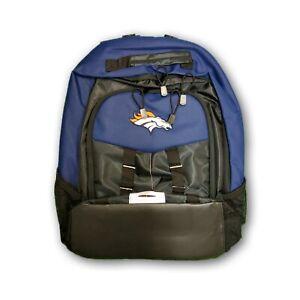 Denver Broncos NFL Northwest Adult Unisex Navy Blue/Black Backpack