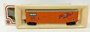 Bachmann - 51' Steel Plug Door Box Car Frisco #43-1010-84 - HO Scale