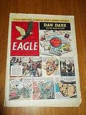 EAGLE #49 VOL 2 14TH MARCH 1952 BRITISH WEEKLY DAN DARE SPACE ADVENTURES