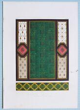 Large 1862 Exhibition Imprimé Papier Suspensions par C Josse & A Seegers Paris