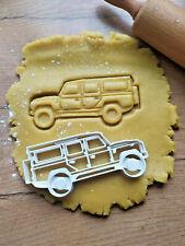 NEU Land Rover Defender Ausstecher Form  Ausstechform Auto Cutter Salzteig