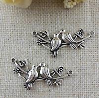 10pcs tibetan  silver color corkscrew design pendant charm G1134