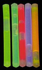 MFH Miniknicklichter 10 Stück Knicklicht Leuchtstab Minileuchtstab 50x6mm