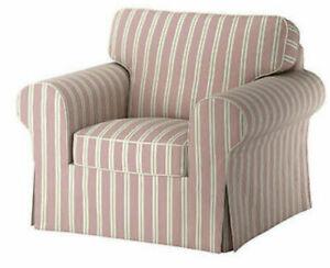*New Original IKEA cover set for Ektorp armchair Mobacka Stripes LAST ONE ! RARE