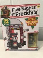 Five Nights at Freddy's McFarlane Star Curtain Stage LEFTY FNAF Construction Set