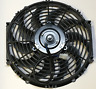 High Performance Black 12inch Thermo Fan Electric Fan  12volt 12v