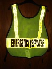 1YAW3 Condor Emergency Response Safety Vest, Lime,  Reflective  NWT